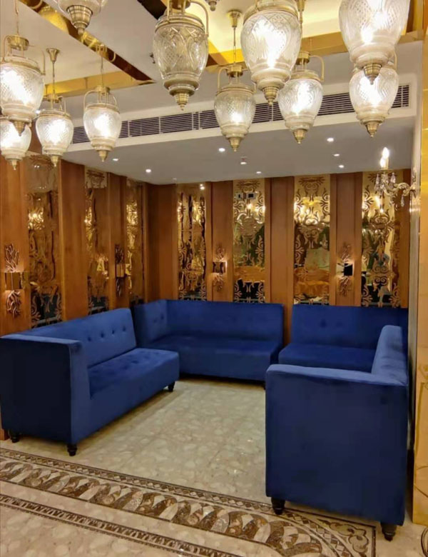 SS hotel project decorative