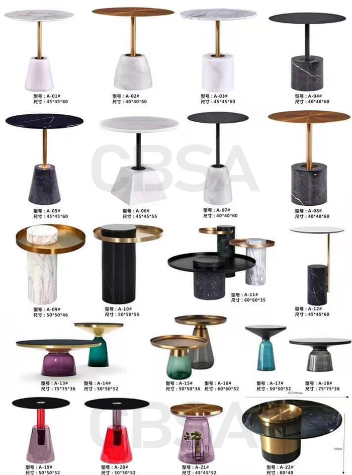 SS fashion furniture series