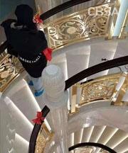 screen luxury stair railing